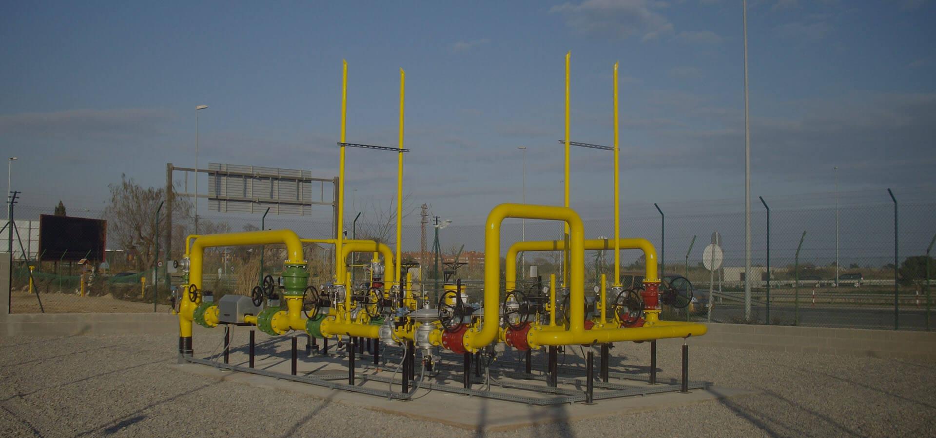 estaciones de regulación GNL