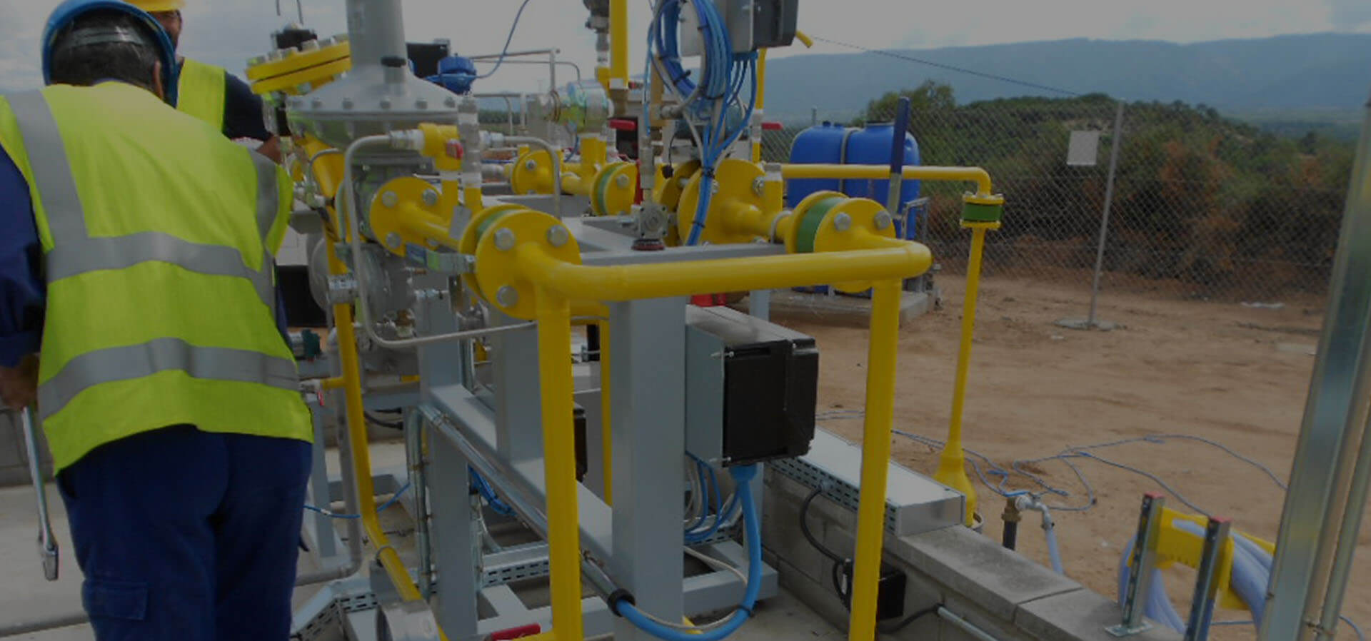 Mantenimiento de plantas GNL