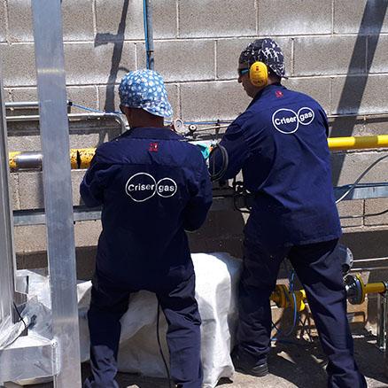 metodología mantenimiento instalaciones GNL
